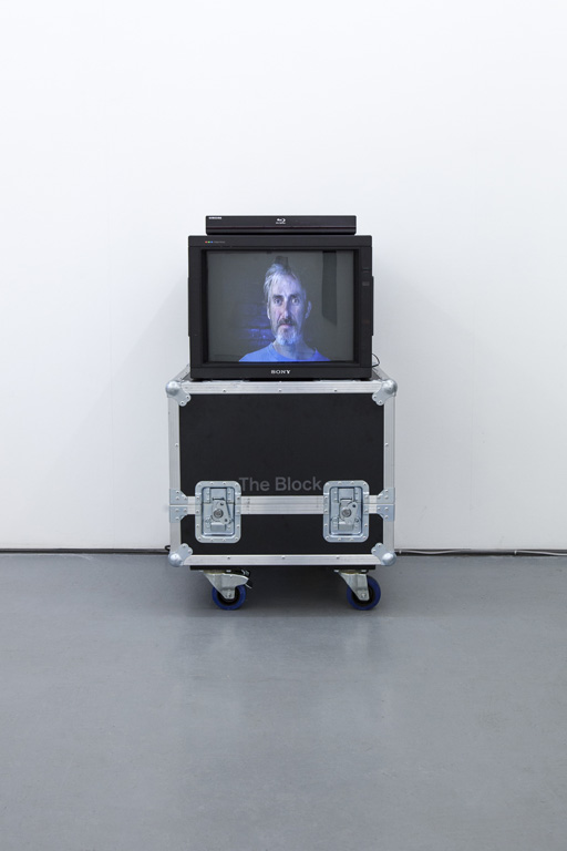 Alan Currall, 'Welcome and Apologies', 2012, 6 minutes 19 seconds, miniDV